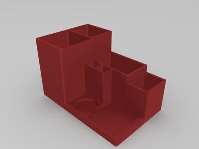 桌面工具架 多功能笔筒 -3d打印模型