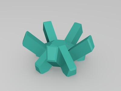 球架-3d打印模型