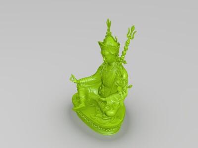 藏佛像-3d打印模型