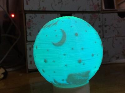 圣诞小夜灯-3d打印模型
