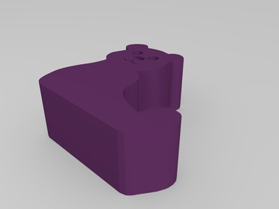 猫手机支架-3d打印模型