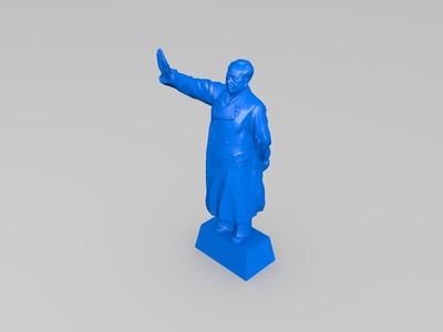 毛泽东塑像-3d打印模型