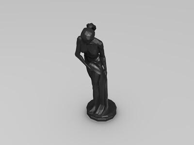 西方艺术雕塑2-3d打印模型