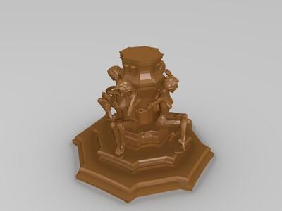 西方艺术雕塑6-3d打印模型