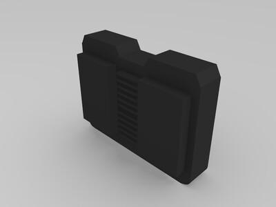 电池盒-3d打印模型