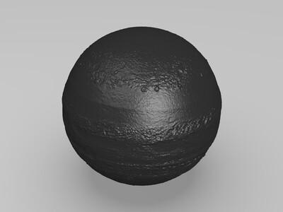 八大行星——木星-3d打印模型