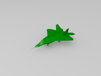 F22猛禽战斗机-3d打印模型
