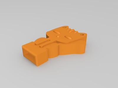 u盘外壳-3d打印模型