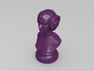 莉亚公主 星球大战-3d打印模型