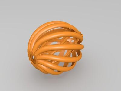 圣诞树球-3d打印模型