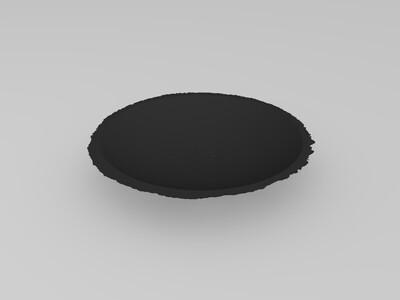 8毫米月球灯修缮图案-3d打印模型