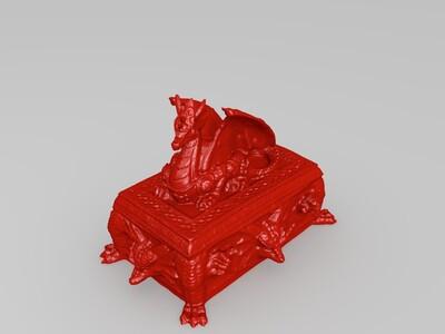 龙的宝箱-3d打印模型