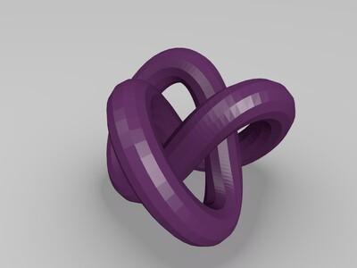 缠绕球-3d打印模型