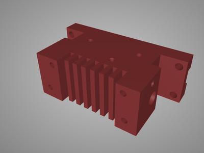 3d打印机喷头套件 线规版-3d打印模型