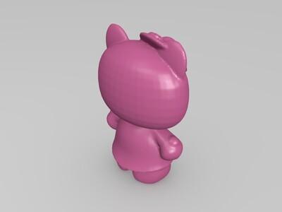 Hello Kitty-3d打印模型