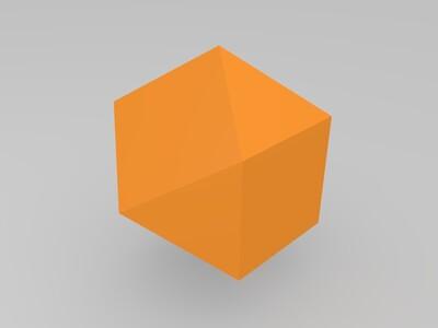 八面体-3d打印模型