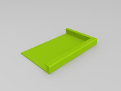 【青年创造工坊】小石榴创客平板电脑<四切>-3d打印模型