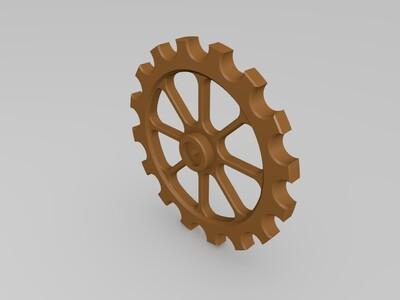 9AB【折腾】系列9mm滚珠轨道圆盘提珠机(前出)-3d打印模型
