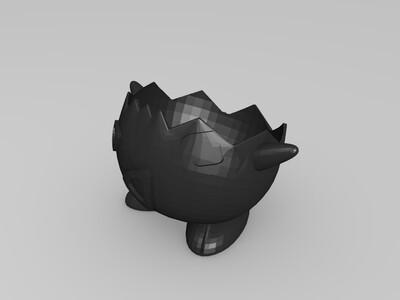 鸡蛋放置区-3d打印模型