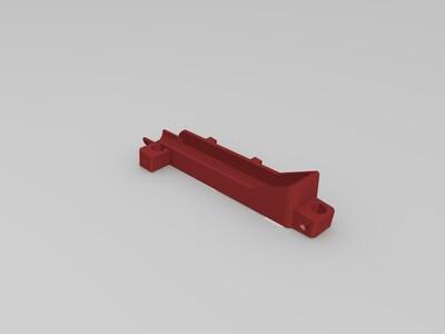 9BB【折腾】系列9mm滚珠轨道 一推二 -3d打印模型