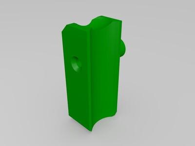 9BD【折腾】系列9mm滚珠轨道 吃豆-3d打印模型