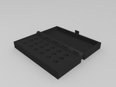 喷嘴盒子-3d打印模型