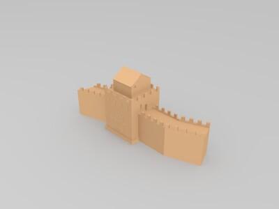 长城局部-3d打印模型