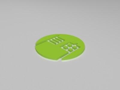 自由门-3d打印模型
