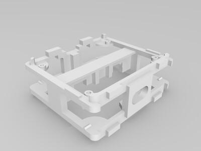 plen人形机器人官方模型-3d打印模型