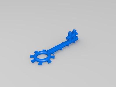 小钥匙-3d打印模型