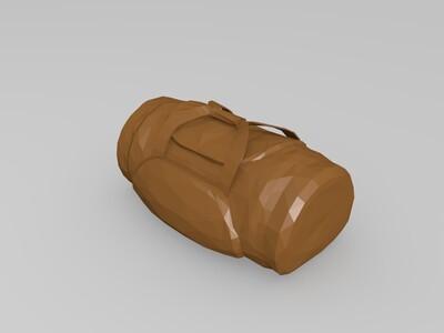 吃鸡-各种背包合集-3d打印模型