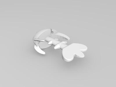 金魚耳機-3d打印模型