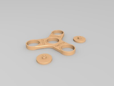 三分指尖陀螺-3d打印模型