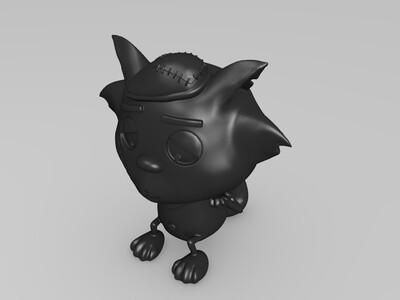 灰太狼-手办-3d打印模型