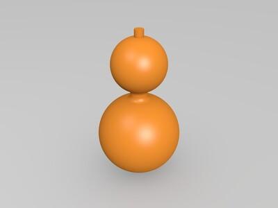 小葫芦-3d打印模型