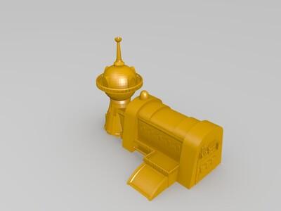 建筑模型-3d打印模型