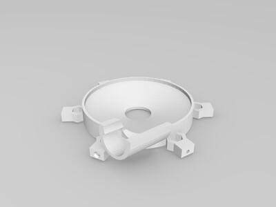 9BA【折腾】系列9mm滚珠轨道 荡珠盘 -3d打印模型