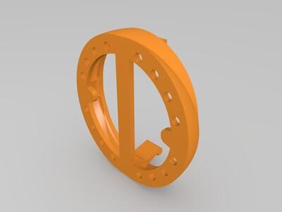 独角兽的角-3d打印模型