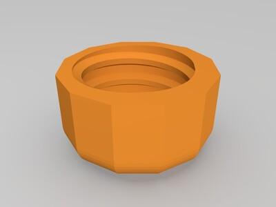 3D打印版N20减速电机螺丝刀-3d打印模型