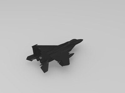 F-15C战斗机-3d打印模型