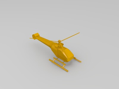 蚊子飞机-3d打印模型