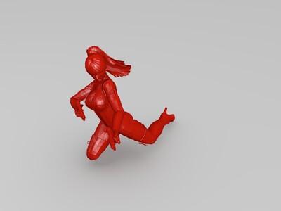 绝地求生-反击射-3d打印模型