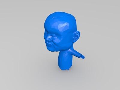 郭德纲-3d打印模型