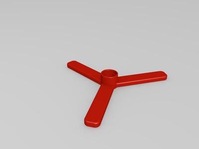 乐高飞机-3d打印模型