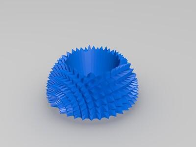 刺猬花盆-3d打印模型