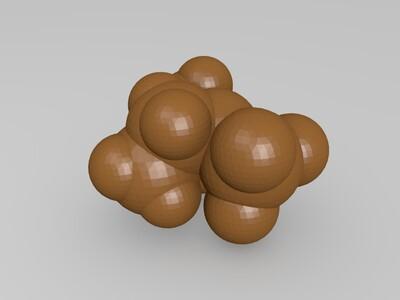 二乙氨基三氟化硫-3d打印模型