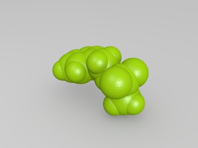 甲磺酸苄酯-3d打印模型