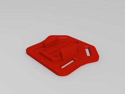 Gopro 支架-3d打印模型