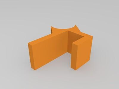 懒人手机支架-3d打印模型