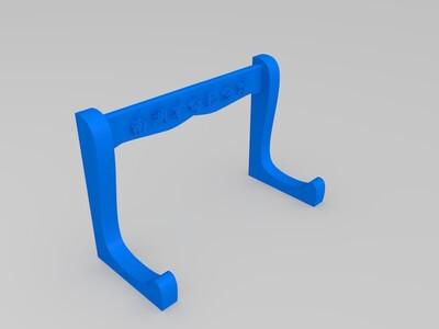 版画 浮雕 展示架-3d打印模型